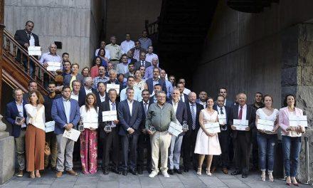 Entrega de galardones del Concurso Agrocanarias 2016, que organiza el Gobierno canario a través del ICCA