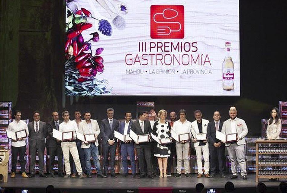 Los Premios Mahou – La Opinión de Tenerife – La Provincia reconocen la excelencia de los mejores profesionales y restaurantes de Canarias