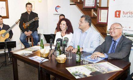 El Alcalde de La Laguna presenta la novena Edición de la Ruta de la Tapa por San Benito