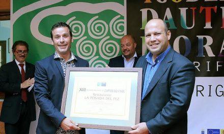 La Posada del Pez recibe el premio a la Mejor  Carta de Vinos promovido por Ycoden
