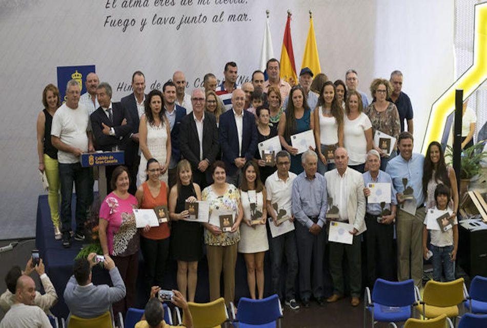 ENTREGADOS LOS PREMIOS DEL CONCURSO OFICIAL DE QUESOS Y DE LA CATA INSULAR DE VINOS DE GRAN CANARIA