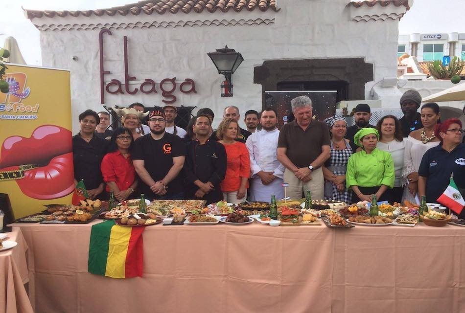 """""""CINE + FOOD"""" PROYECTA EN GRAN CANARIA LA COCINA INTERNACIONAL"""