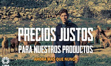 """LOS PRODUCTORES CLAMAN POR """"PRECIOS JUSTOS"""" ANTE LA DRAMÁTICA SITUACIÓN DE LOS MERCADOS AGRÍCOLAS Y GANADEROS"""