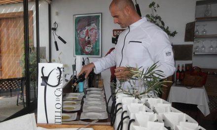 GERMÁN BLANCO, EMBAJADOR EN TÍAS DEL MEJOR ACEITE DE OLIVA