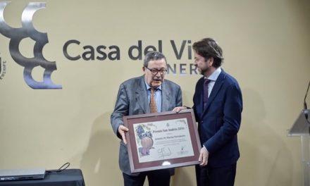 ANTONIO MACÍAS, PREMIO SAN ANDRÉS 2016