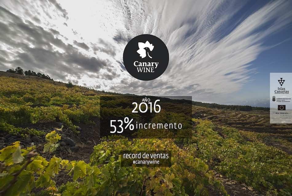 RECORD DE VENTAS DE CANARY WINE EN 2016