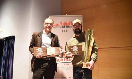 LA CERVECERA NORTEAMERICANA FOUNDERS, PREMIO A LA MEJOR CERVECERA DEL AÑO EN EL BARCELONA BEER CHALLENGE 2017