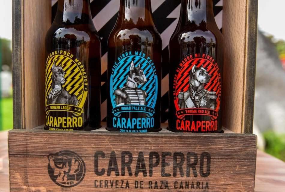 """CERVECERA DE CANARIAS PRESENTA SU NUEVA CERVEZA CRAFT: """"CARAPERRO"""""""