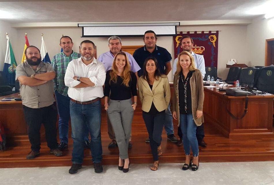 LOS SOCIOS DEL PROYECTO ENOTURÍSTICO LETIME CELEBRAN SU PRIMERA REUNIÓN EN EL MUNICIPIO DE LA FRONTERA