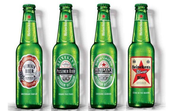 Heineken® LANZA UNA EDICIÓN LIMITADA PARA COLECCIONISTAS CON SUS ETIQUETAS MÁS ICÓNICAS