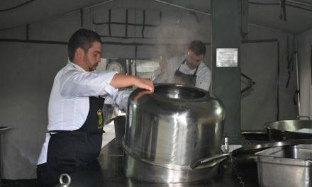 """GRAN PAPEL DE LOS COCINEROS MILITARES CANARIOS EN EL """"ARMY CHEF"""" DEL EJÉRCITO DE TIERRA"""