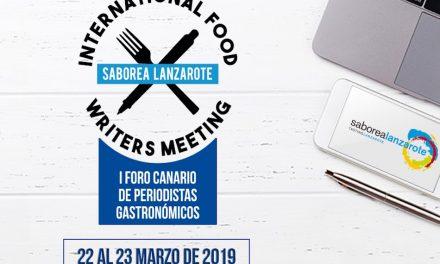 LANZAROTE ACOGE EL I FORO CANARIO DE PERIODISMO GASTRONÓMICO