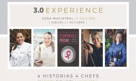 4 HISTORIAS, 4 CHEFS EN UNA CENA MAGISTRAL 3.0 EXPERIENCE