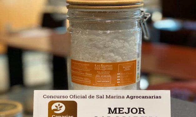 SALINAS DE TENEFÉ (GRAN CANARIA) GANADORA DEL CONCURSO OFICIAL DE SAL MARINA AGROCANARIAS 2019