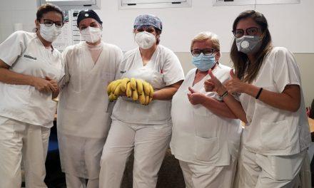 PLÁTANO DE CANARIAS FIRMA ACUERDOS PARA LA DISTRIBUCIÓN GRATUITA EN HOSPITALES, RESIDENCIAS Y SERVICIOS DE ATENCIÓN DOMICILIARIA